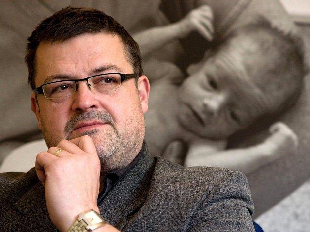 Lumír Kantor, primář novorozeneckého oddělení Fakultní nemocnice Olomouc