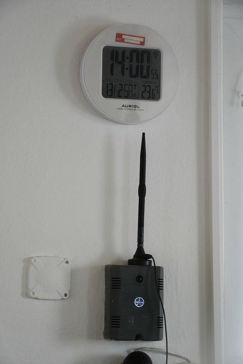 Meteorologická stanice v Luké na Olomoucku, únor 2021
