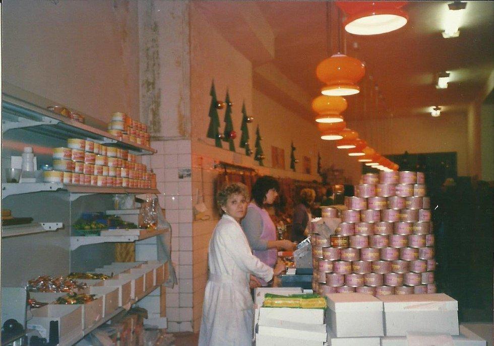 Bufet Centrum v roce 1984