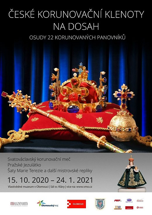 České korunovační klenoty ve Vlastivědném muzeu v Olomouci - virtuální prohlídka on-line