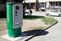 Nový parkovací automat v olomoucké fakultní nemocnici