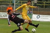 FK Baník Sokolov (ve žlutém) – 1. HFK Olomouc