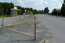 Stávající autobusové nádraží ve Šternberku