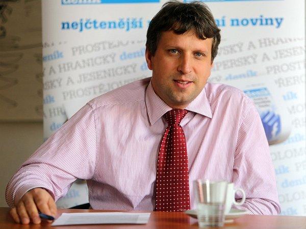 Šéf Výstaviště Flora Jiří Uhlíř při ON-LINE rozhovoru