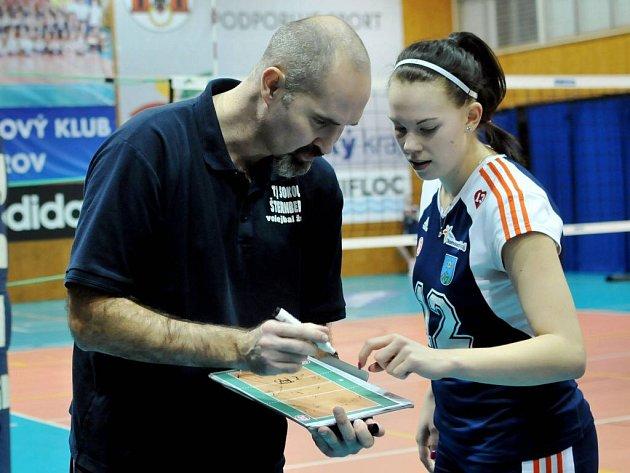 Martin Hroch, trenér volejbalistek Šternberka
