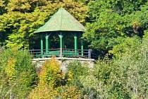 Vyhlídka nad Šternberkem zvaná Zelená budka