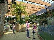 Vizaulizace Afrického tropického pavilonu v olomoucké zoo