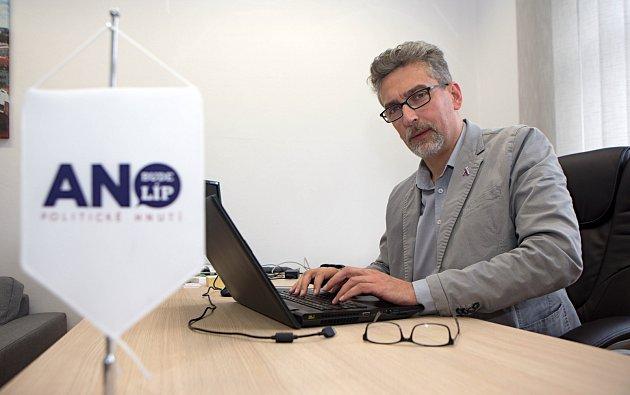 Miroslav Žbánek, olomoucký lídr ANO pro komunální volby 2018