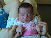 Vivien Pancová, Pašovice, narozena 11. června, míra 48 cm, váha 3100 g