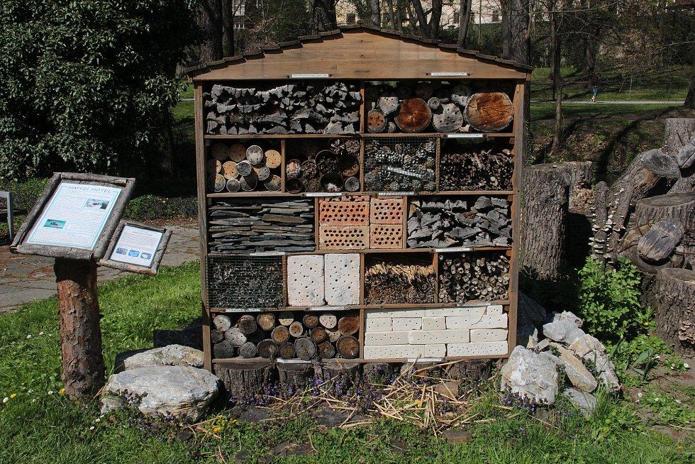 Botanická zahrada v Olomouci, 30. dubna 2021
