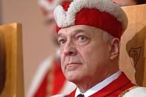 Rektor UP Olomouc Lubomír Dvořák