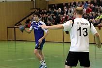 Házenkářské derby: Olomouc (v bílém) proti Litovli