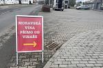 Vinařství Holánek vozí vína do desítek obcí na Olomoucku, Přerovsku a Prostějovsku, 23. ledna 2021