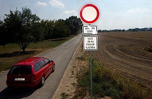 Alternativní cesta z Olomouce do Přerova se uzavřela
