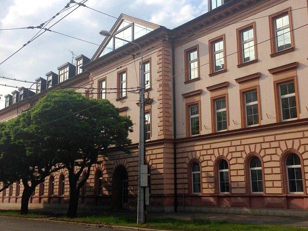 Budova Vrchního soudu vOlomouci