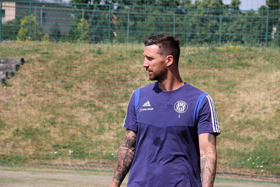 Fotbalová Sigma Olomouc zahájila přípravu na novou sezonu.David Vaněček