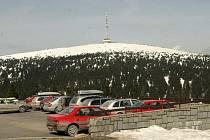 Areál Ovčárna pod vrcholem Pradědu
