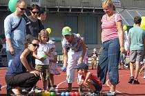 Handicap Rally na olomouckém atletickém stadionu