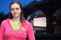 Kateřina Kohoutová se o provoz areálu letního kina v Olomouci stará od léta 2016
