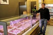 Prodejna Mitrovsky Angus v olomoucké Galerii Šantovka.