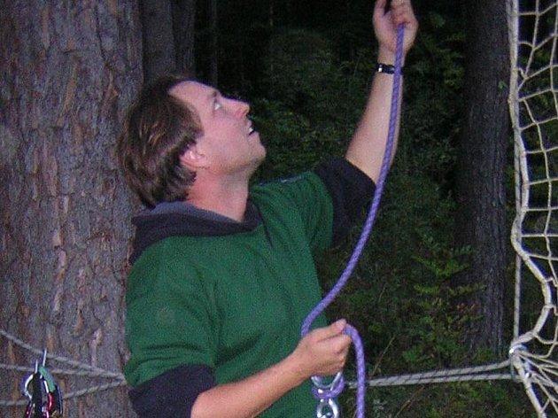 Karel Šotola chystá outdoorovou akci.