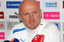 Trenér české reprezentace Michal Bílek