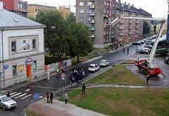 Rekonstrukce tragické střelby před barem Lumír v Přerově