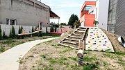Zrekonstruovaná školka v Nádražní ulici ve Šternberku