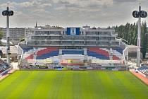 Jižní tribuna Androva stadionu