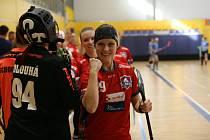 Florbalistky FBS Olomouc měly ze zápasů s Jičínem a Vítkovicemi poloviční úspěšnost.
