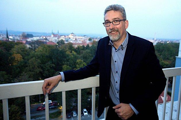Lídr ANO v Olomouci Miroslav Žbánek