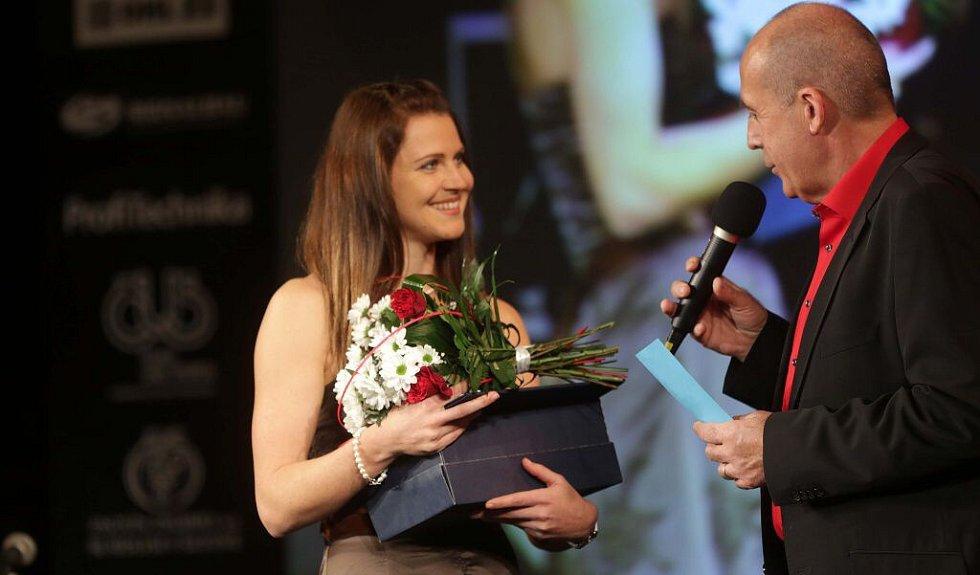 Lucie Šafářová. Vyhlášení Sportovce Olomouckého kraje za rok 2015