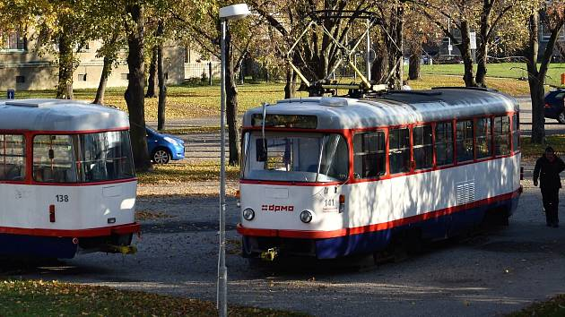 Co bude s tramvajemi, které před volbami využívali pro svoji kampaň lidovci?