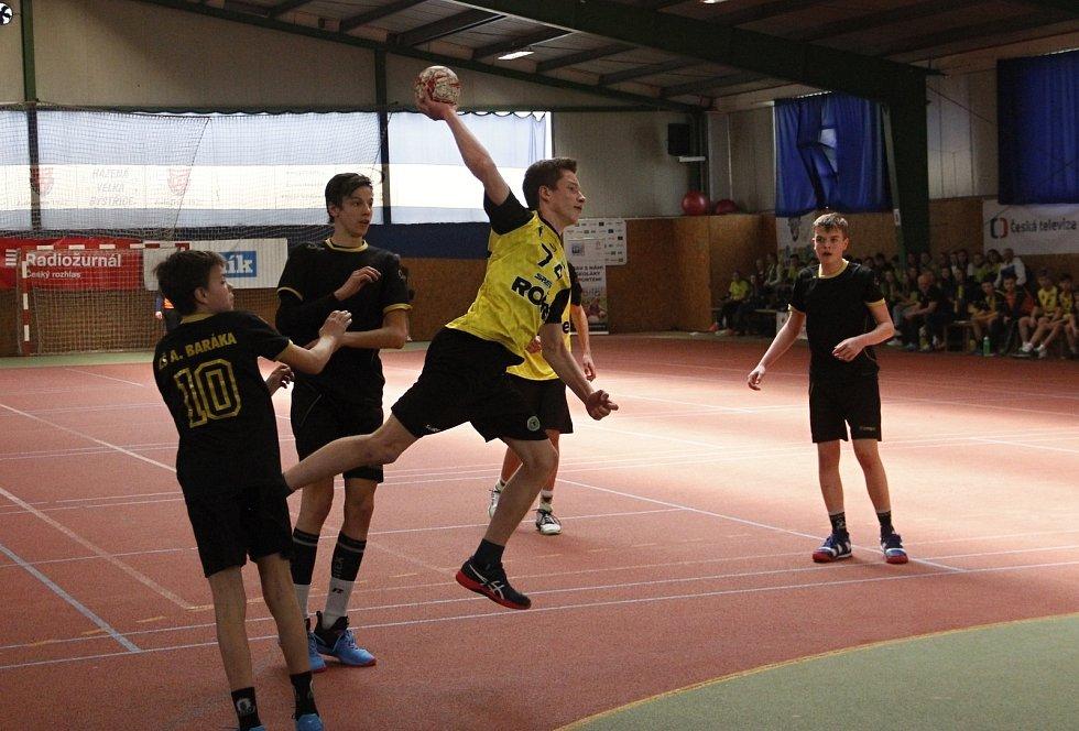 Finále Zubří (ve žlutém) vs. Lovosice.