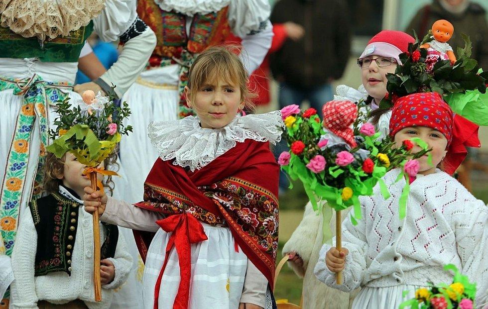Vynášení zimy ve Štěpánově na Olomoucku, březen 2014