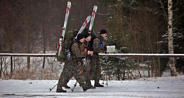 Extrémní armádní závod Winter Survival vJeseníkách