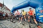 Start čtvrté etapy Czech Cycling Tour 2015