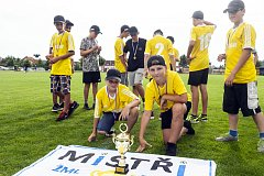 Mladší žáci FC Dolany ovládli okresní soutěž a postoupili do kraje.