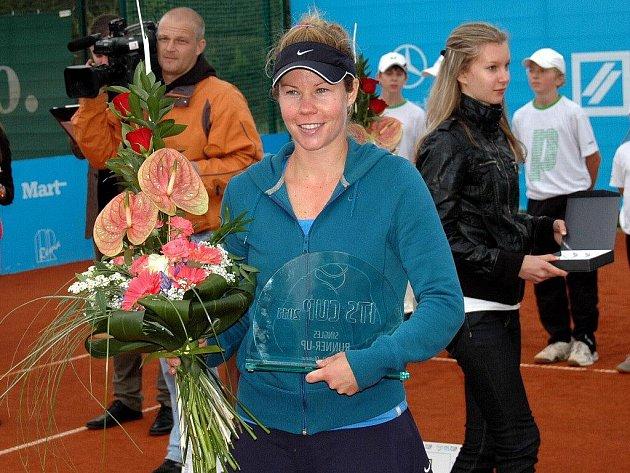 Poražená finalistka Eva Birnerová