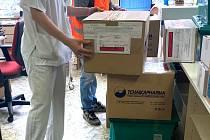 Distribuce léku ivermektin z brněnské Nemocnice u sv. Anny
