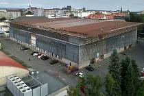 """Olomouckou """"plechárnu"""" čeká oprava střechy."""