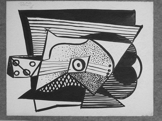 Údajná kresba Pabla Picassa, kterou si měli odnést lupiči z domu podnikatele v Olomouci