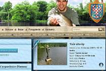 Nové webovky olomouckých rybářů