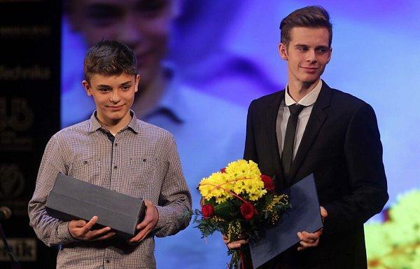 Tým cyklistů Mapei Merida Kaňkovský. Vyhlášení Sportovce Olomouckého kraje za rok 2015