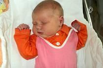 Ema Nakládalová, Dlouhá Loučka, narozena 8. února ve Šternberku, míra 51 cm, váha 4050 g