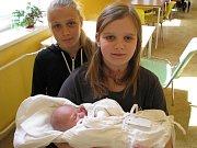 Antonín Marek, Blatec, narozen 11. května v Olomouci, míra 52 cm, váha 3340 g