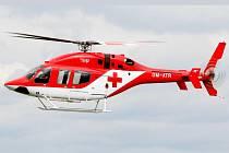 Záchranářský vrtulník slovenské společnosti ATE. Ilustrační foto