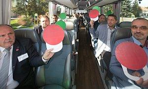 DENÍK BUS - vzali jsme lídry autobusem do Přerova
