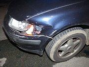 Nehoda passatu mezi Uničovem a Brničkem