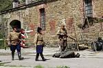 Rekonstrukce osvobození Olomouce v květnu 1945 na olomouckém Fortu Radíkov